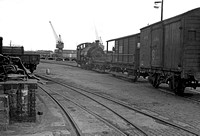 1363 1950s Plymouth Millbay Docks