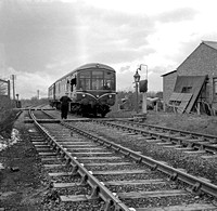DMU 1958-03-09 West Thurrock Junction LTSR