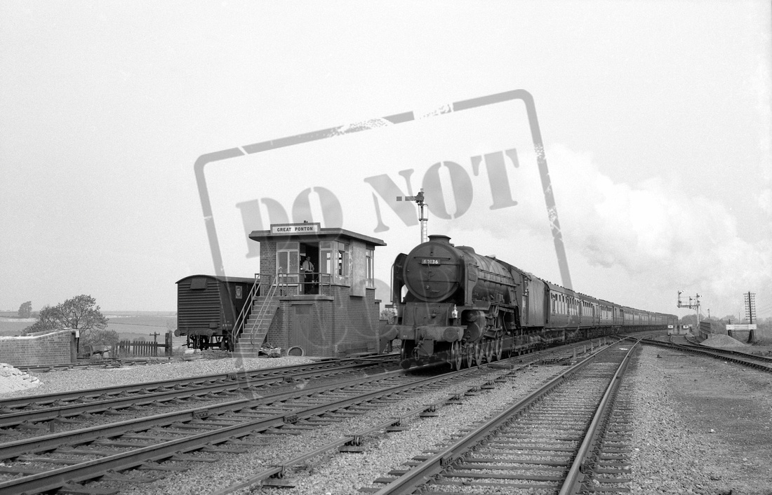 Rail-Online: A1 4-6-2 (Peppercorn) &emdash; 60136 1959 Great Ponton