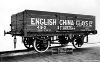 Private Owner wagon English China Clays 490