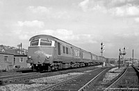 Blue Pullman 1965-08-20 High Wycombe