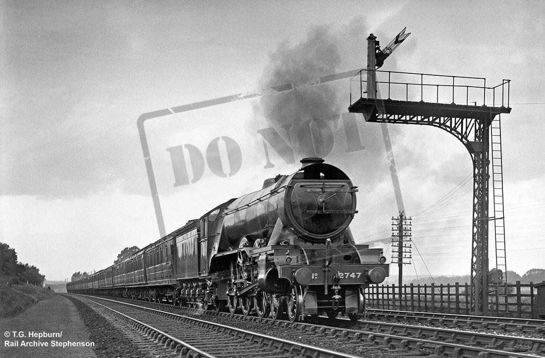 Rail-Online: A3 4-6-2 &emdash; 2747 1932-09-03 Saltersford
