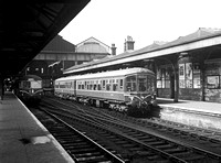 DMU 1950s Norwich station