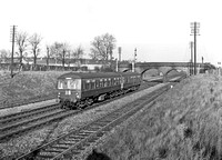 DMU 1958-12-14 Digswell near Welwyn North