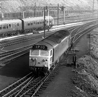 432 1970s Red Bank Carriage Sidings Manchester