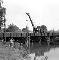 Bridge renewal Bradford on Avon Barton Bridge 1960 -ROneg-1603-137