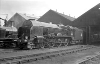 30852 1950s Eastleigh shed