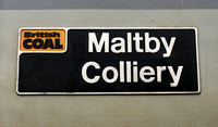 56012 Maltby Colliery nameplate