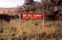 Enamel Summit sign 1967-09-14 Ais Gill-ROS-1612-922
